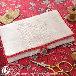 Frisian whitework needlecase
