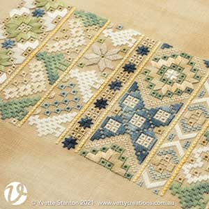 Frisian Whitework silk sampler supplies pack
