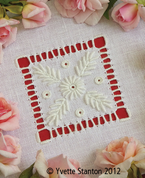 Portuguese Whitework panel class with Yvette Stanton