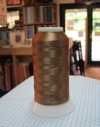 Berrima Patchwork brown? thread
