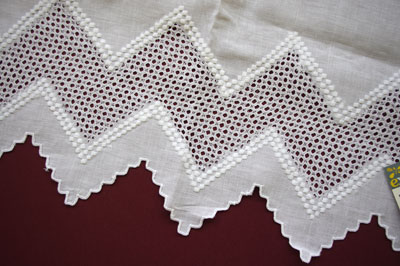 Spanish whitework cloth
