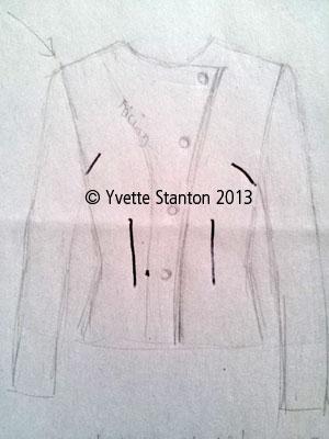 jacket sketch