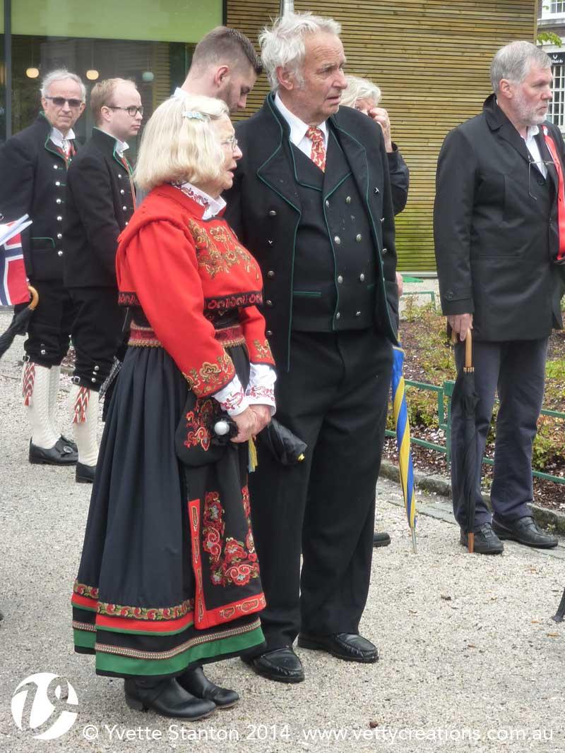 Beltestakk bunad from East Telemark