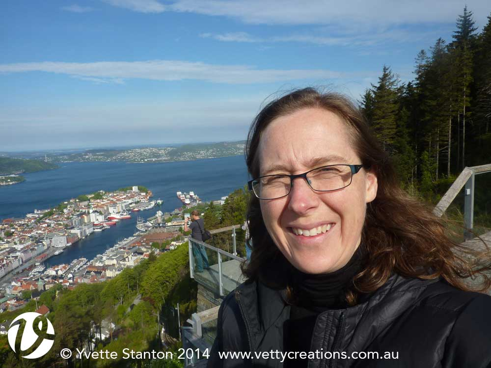 Selfie overlooking Bergen