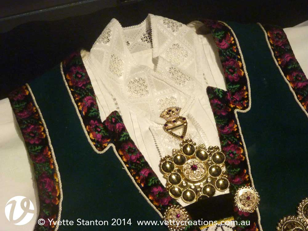 Hardanger shirt, waistcoat and jewellery