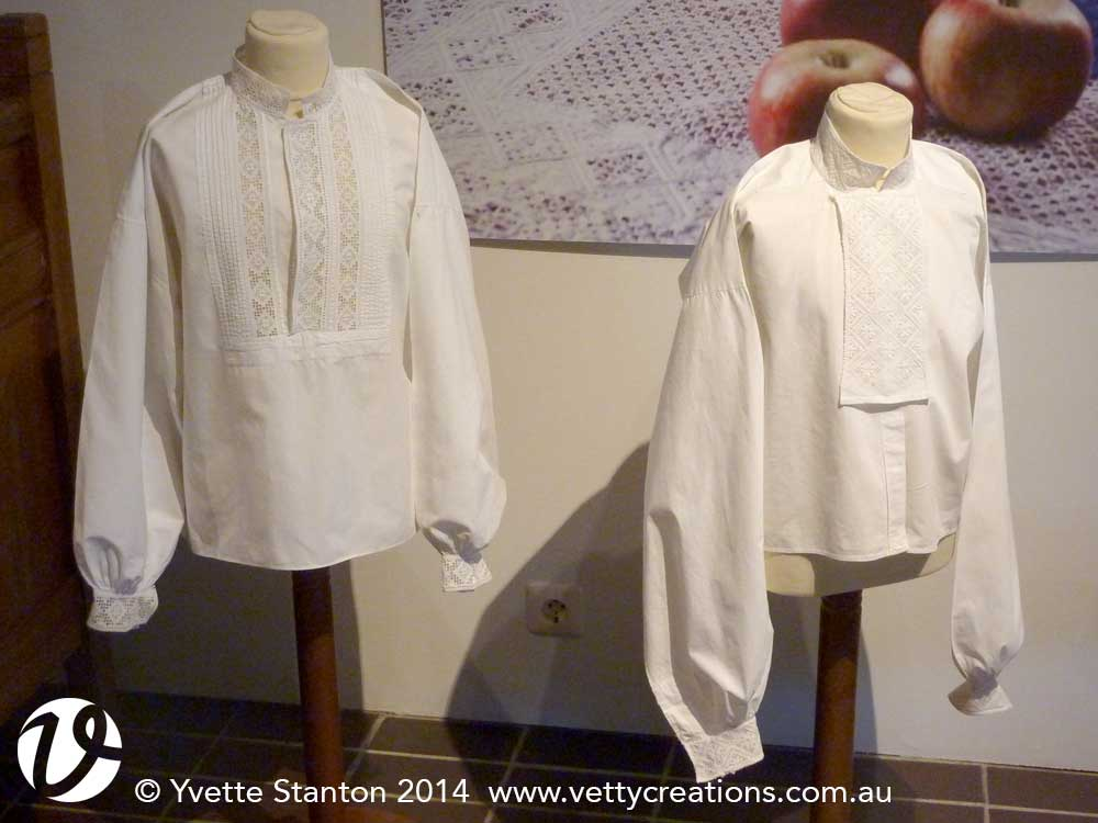 Whitework shirts