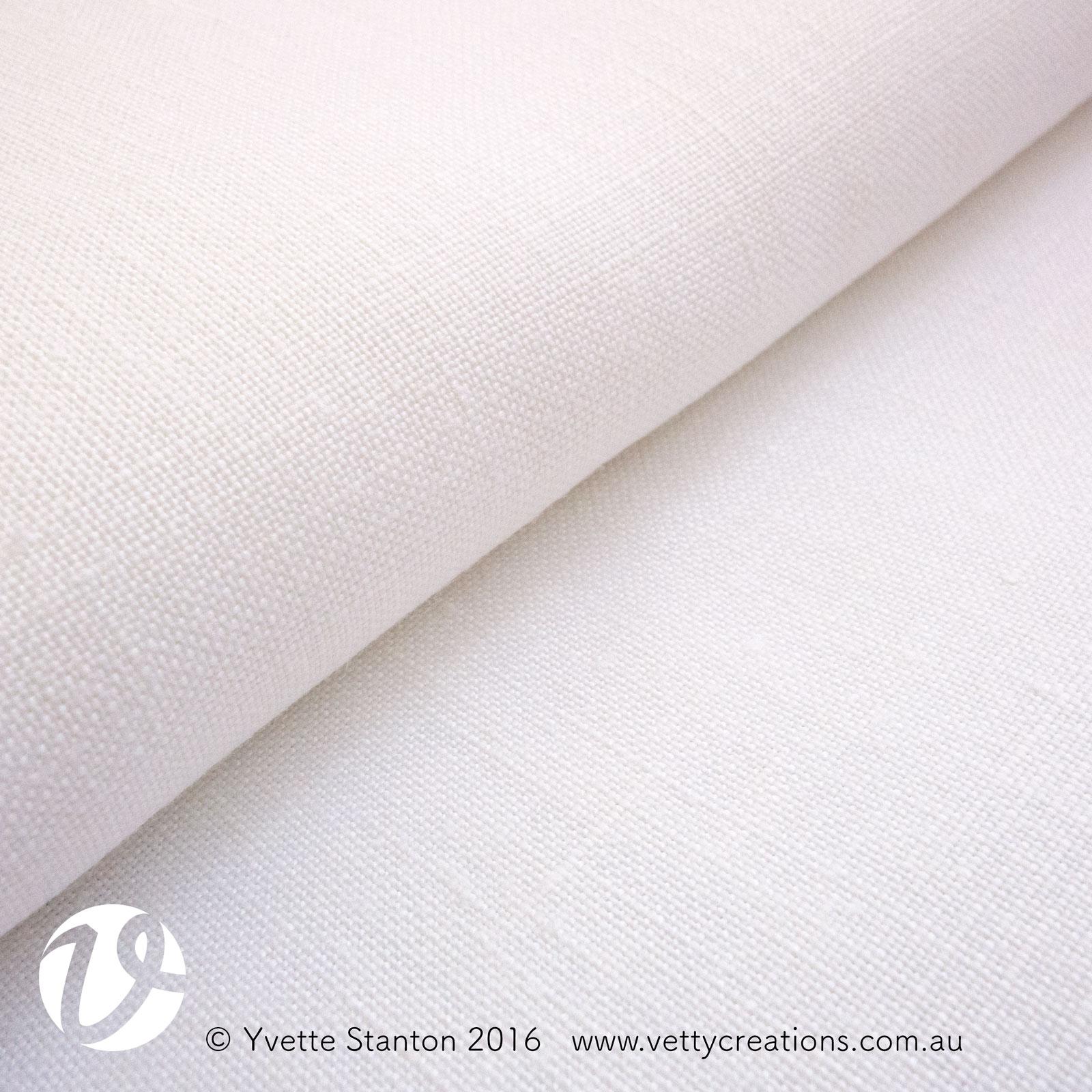 Weddigen 22 linen, 50 count