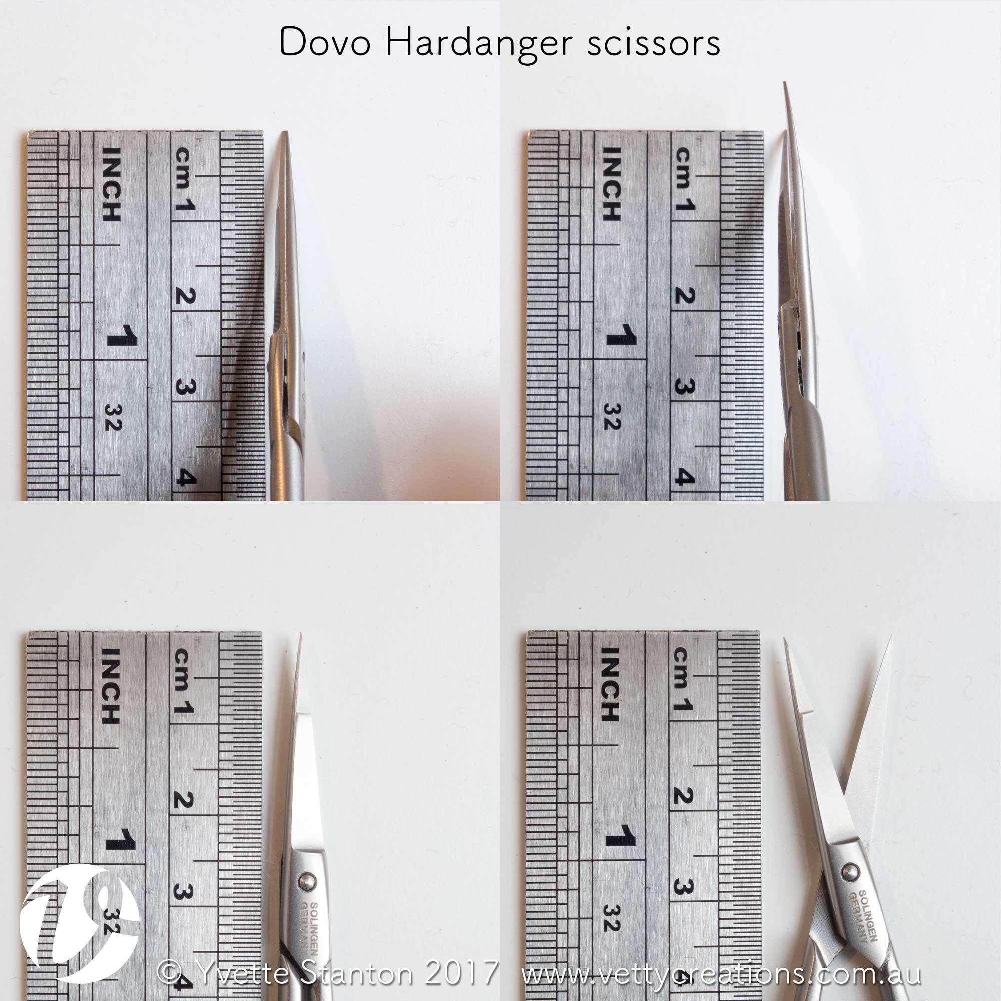 Dovo Hardanger scissors