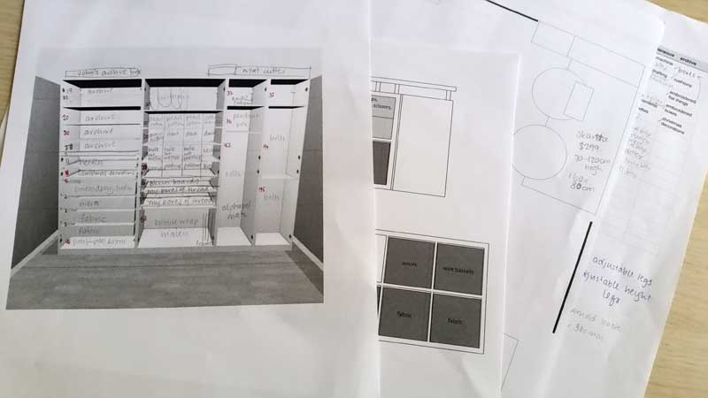 planning and designing my new office space
