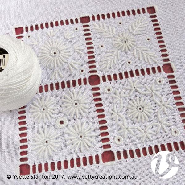 Portuguese Whitework Sampler