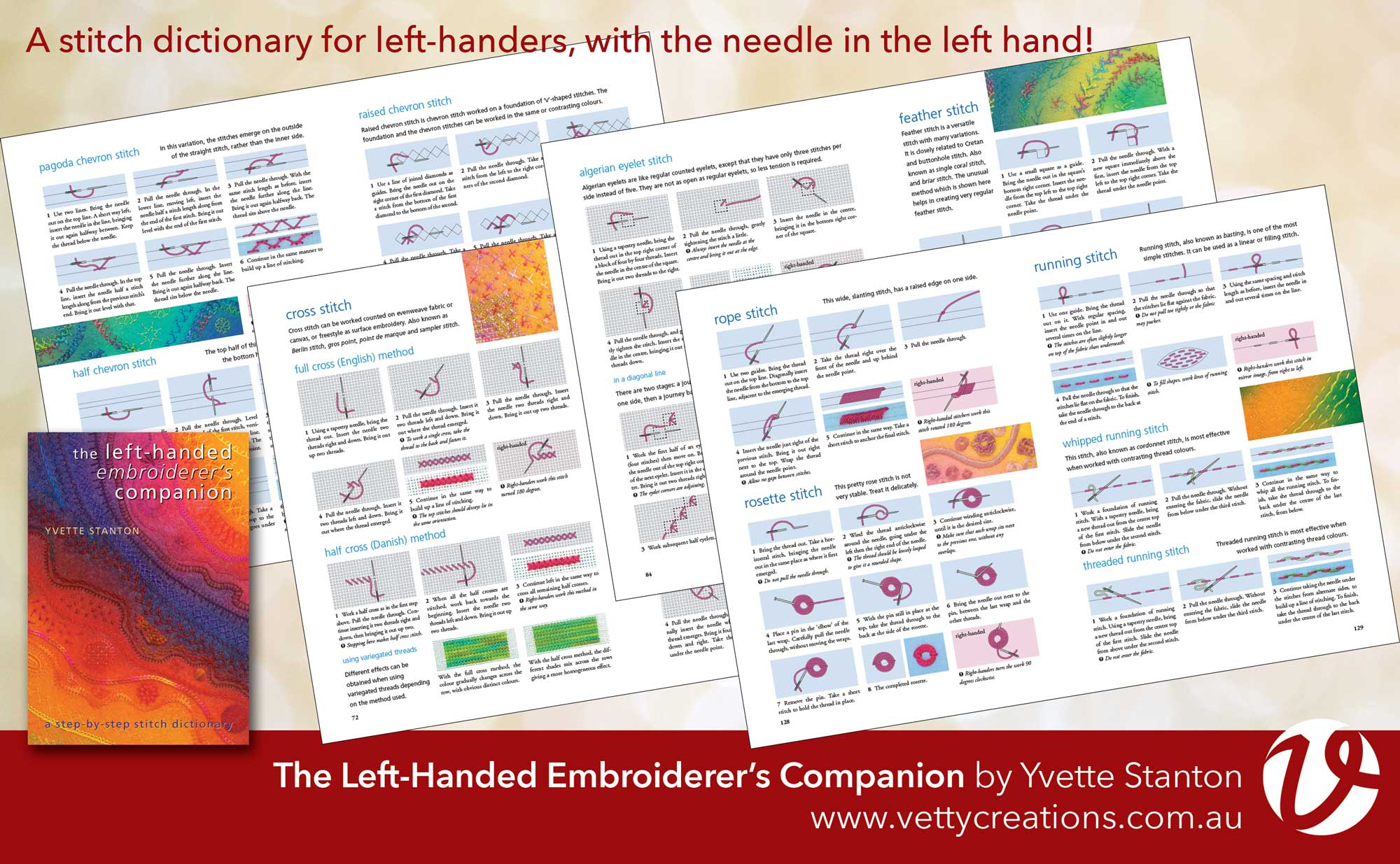 The Left-Handed Embroiderers Companion