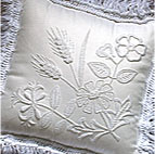 Mountmellick wildflower cushion